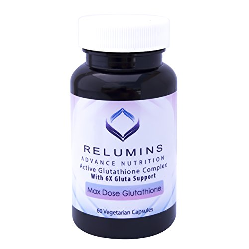 10 Bottles Authenic Relumins Advance White Active Glutathione Complex -Oral Whitening Formula Capsules with 6X Boosters - Whitens, Repairs & Rejuvenates Skin by Relumins
