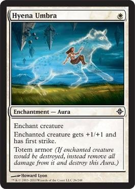 Magic: the Gathering - Hyena Umbra - Rise of the Eldrazi
