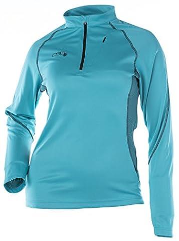 DSG Outerwear Women's DSG Tech Shirt (Blue, X-Large) - Divas Womens Shirts