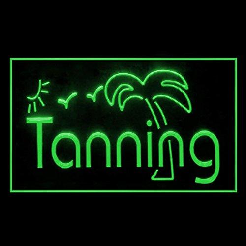 (160042 Tanning Sunshine Bikini Beauty Beach Sun Bath Display LED Light Sign)