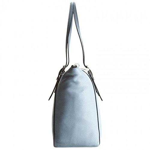 Coccinelle , Sac pour femme à porter à l'épaule bleu iris