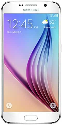 Samsung Galaxy S6, White Pearl 32GB (AT&T)