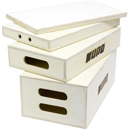 Kupo 4 in 1 Nesting Apple Box Set - Includes 1 Each Pancake, Quarter, Half, and Full Apple Box (KG087411) by Kupo