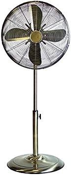 Nuevo ventilador de pie antiguo ventilador extensible de 16