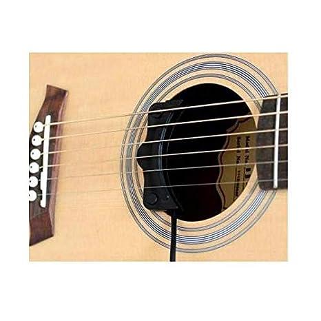 Piezo - Transductor de guitarra con agujero de sonido de contacto ...