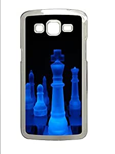 Samsung 2 7106 Case Glowing King PC Custom Samsung 2 7106 Case Cover Transparent