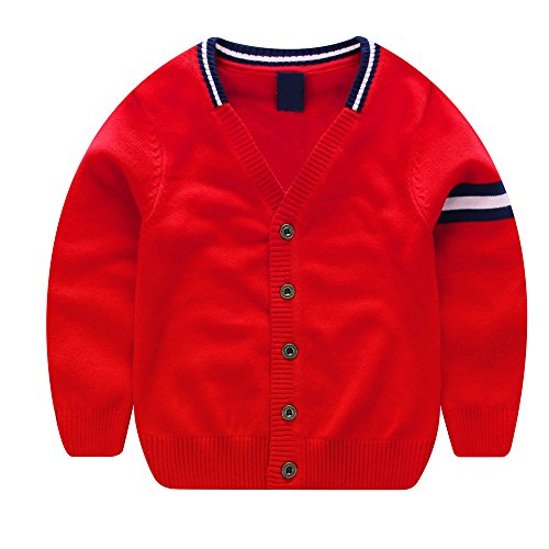 Button Crewneck Sweater - 7
