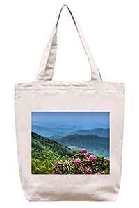 Azul Ridge Mountains–algodón Canvas Tote Bag