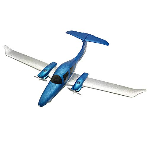 2.4G 3-Axis Gyro 548mm Wingspan Remote Control DIY Glider Fixed Wing RC Airplane Drop-Resistant Foam Fight Plane by GorNorriss
