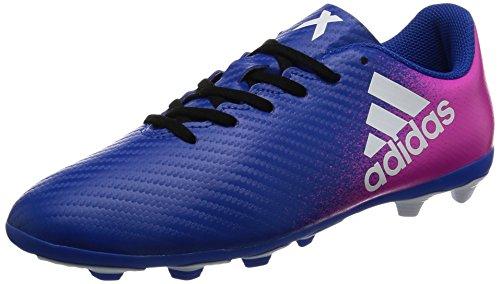 adidas Unisex-Kinder X 16.4 FxG J für Fußballtrainingsschuhe Blau (Azul/ftwbla/rosimp)