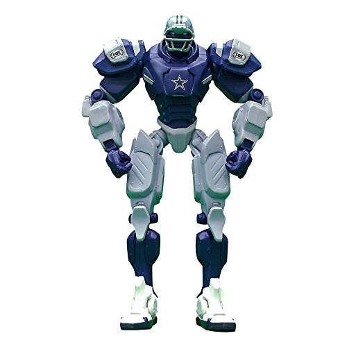 "Dallas Cowboys 10"" Team Cleatus FOX Robot NFL Football Action Figure Version 2.0"