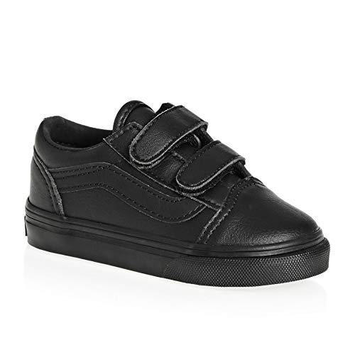 Price comparison product image Vans Old Skool Toddler Shoes 5.5 M US Toddler Black Mono