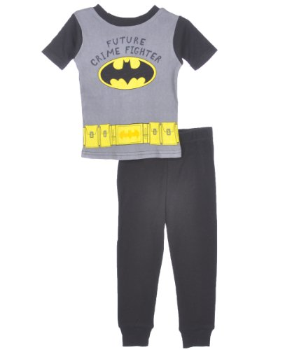 Future Crime Fighter Batman Pajamas for Little Boys - Batman Crime Fighter