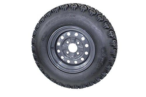 (Qty:1) 25x10.00-12 Kubota RTV's 900, 1100 & 1140 UTV's Assemblies 6 Ply ATW-045 (Rtv 900 Kubota Tires)