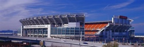 Posterazzi Browns Stadium Cleveland OH Poster Print, (36 x 12)