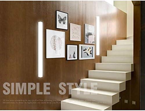 Espejo delantero Light-LED para cuarto de baño, cuarto de baño, luz espejo, luz rectangular, aplique para cuarto de baño, decoración lámpara de maquillaje, lámpara moderna, minimalista