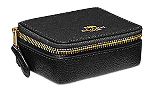 COACH TRIPLE PILL CASE BOX with 3 Pill Bottles F41289 (BLACK)