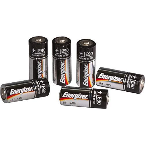 Energizer E90 N Alkaline 1.5 Volt Battery (6-Pack)