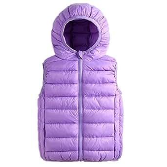 Amazon.com: Beiduoxiong Girls Cotton Vest Winter Packable