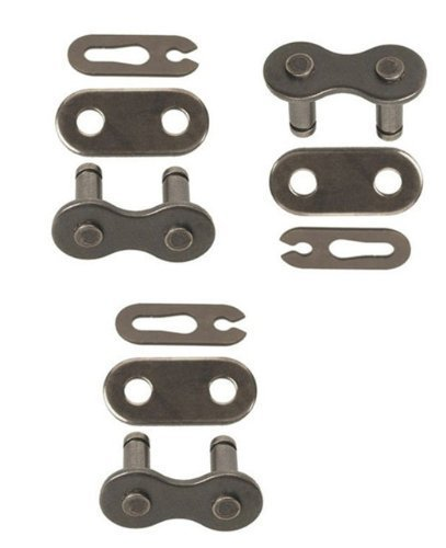 (420 Chain Scooter Moped Connecting Master Link Pack of 3)