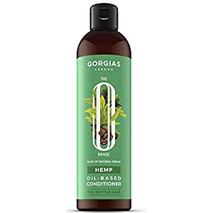All-Natural Hemp Oil Conditioner for Brittle Hair | Paraben Free Dermatologically-Tested Caffeine, Vitamin B5 and Hemp Oil-Based Hair Conditioner for Hydrated Healthy Shine and Regeneration