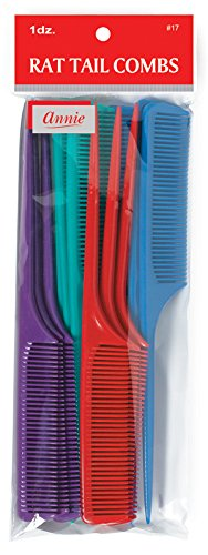 Annie Rat Tail Comb Set, 12 ()