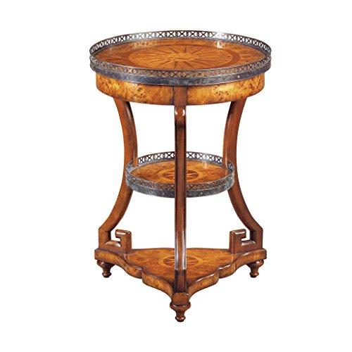 EGA Louis XVI Style Round Side Table