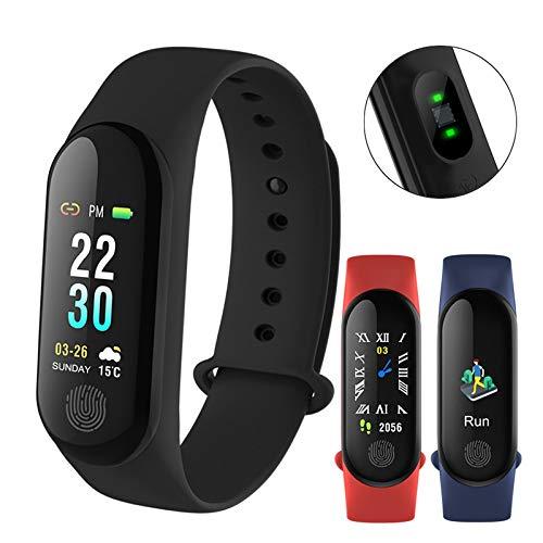 Leoie High Tech M3 Plus Smart Band Long Standby Time Sports Multifunction Watch Blue