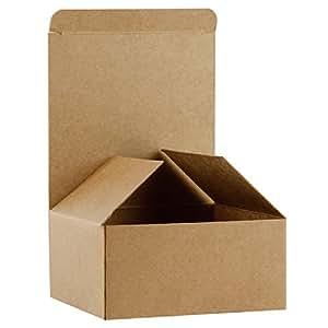 Amazon.com: RUSPEPA Cajas de regalo de cartón reciclado ...