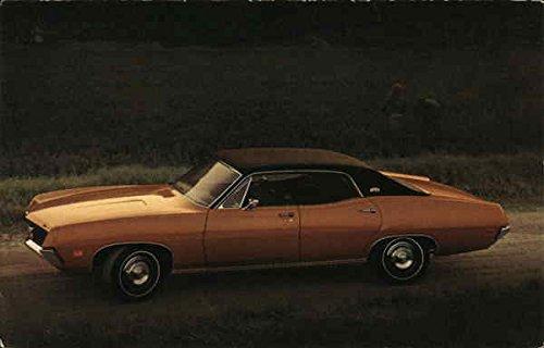 (1970 Torino Brougham 4-Door Hardtop Cars Original Vintage Postcard)