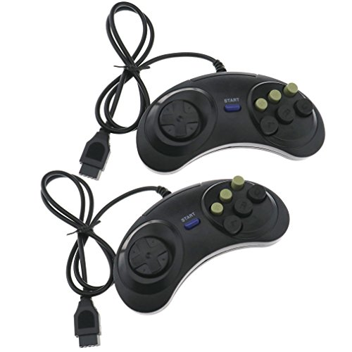6 Button Game Controller Joypad Replacement For Sega Mega Drive & Genesis