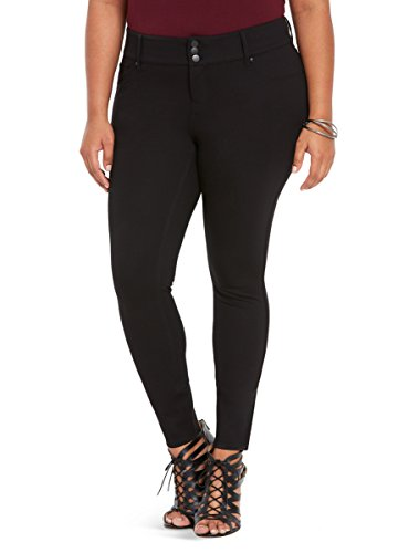 Jegging Pant - Black All-Nighter Ponte (Short)
