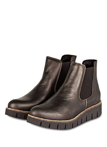 apple of eden chelsea boots nanda bronze/metallic