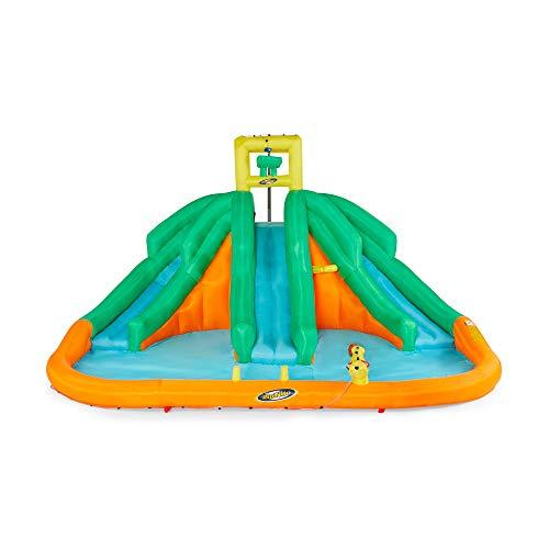 Kahuna Triple Monster Inflatable Backyard Kiddie Water Park & Slide