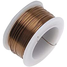 Beadsmith Antique Brass Color Copper Craft Wire 26 Gauge - 30 Yards