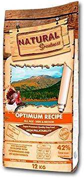 Natural Greatness Optimum Mini & Medium Breed Alimento Seco Completo para Perros - 12000 gr