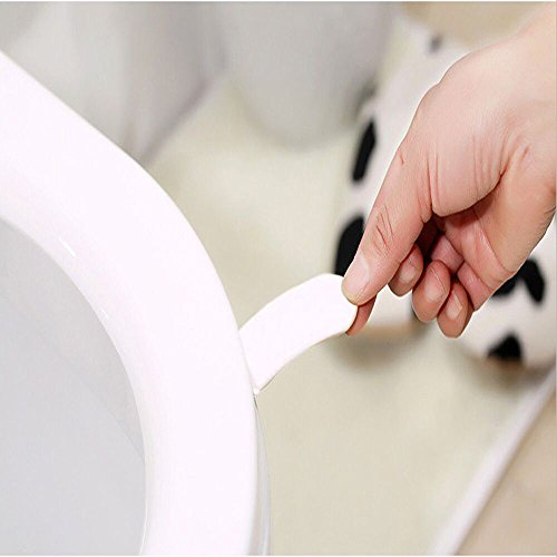 Iulove_Bathroom Products Toilet Seat Cover Lifter Handle Avoid Touching Hygienic - Toilet Cover Dispenser Seat Windows