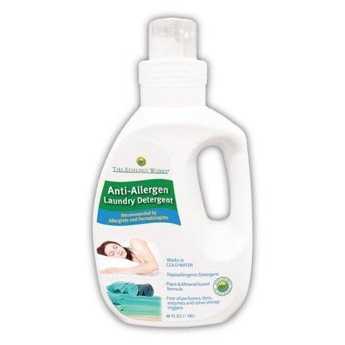 (The Ecology Works Anti Allergen Solution Laundry Detergent, 40 oz.)