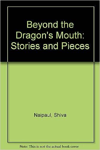 Beyond The Dragons Mouth Shiva Naipaul 9780140086829 Amazon
