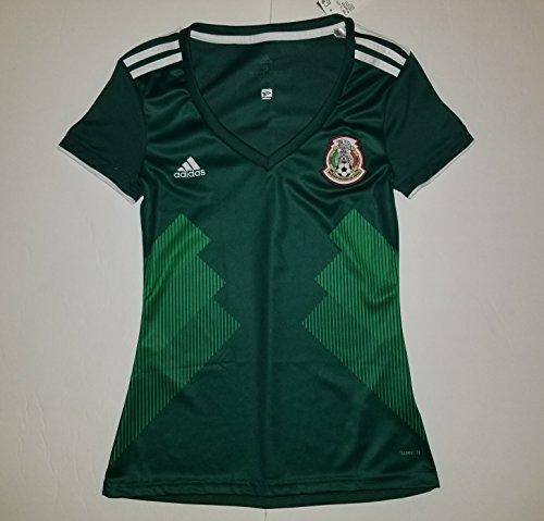 Official Women's Federacion de Mexico Green Jersey - Jersey Women Mexico