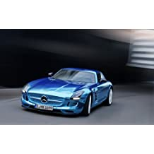 2014 Mercedes Benz Sls Amg Coupe Electric 11X17 Photo Banner Poster
