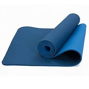 Amazon.com: LS-Exercise Fitness Yoga Mat-TPE Anti-Skid ...