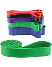 Bigood Fitness Workout Resistance Bands Multifunction Assist Pull Up Band for Exercise