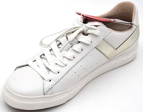 Bianco Sneaker Ox Libero Topstar Eu Art 5 Scarpa Uk Donna Casual Usa Argento Tempo White Pony 6 39 Silver Pelle xa4wqC