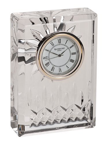 Waterford Crystal Lismore Small Clock by Waterford