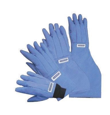 National Safety Apparel G99CRBESHLGR Size 10 Olefin And Polyester Lined Nylon Taslan And PTFE Shoulder Length Water Resistant Cryogen Gloves (1/PR)