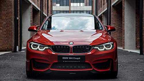 BMW 4 Series Coupe Car Poster Print #5 (24x36 Inches)