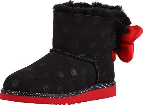 UGG Big Kids Sweetie Bow Boot Black Size 3 M US Little Kid