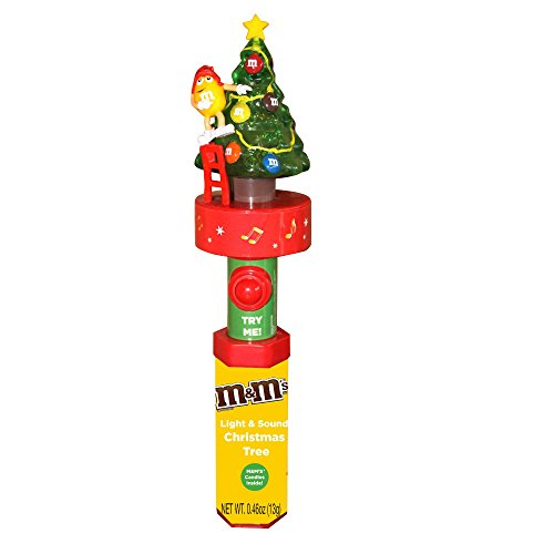 M&Ms Christmas Tree Light Up Toy with Music and Candies
