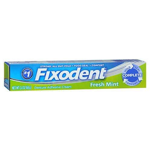 Fixodent Fresh Mint Cream Size 2.4z Fixodent Fresh Mint Cream 2.4z